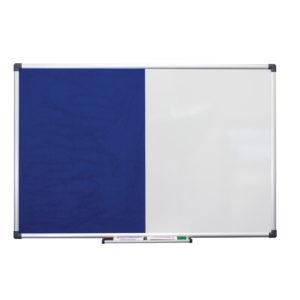Combi Notice Board Blue