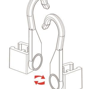 Hanging Hook Frame Holder