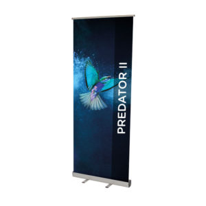 Predator II Roller Banner - 1000mm Adhesive Rail
