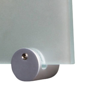 Side Clamp Fixing 25mm x 37mm (Satin)