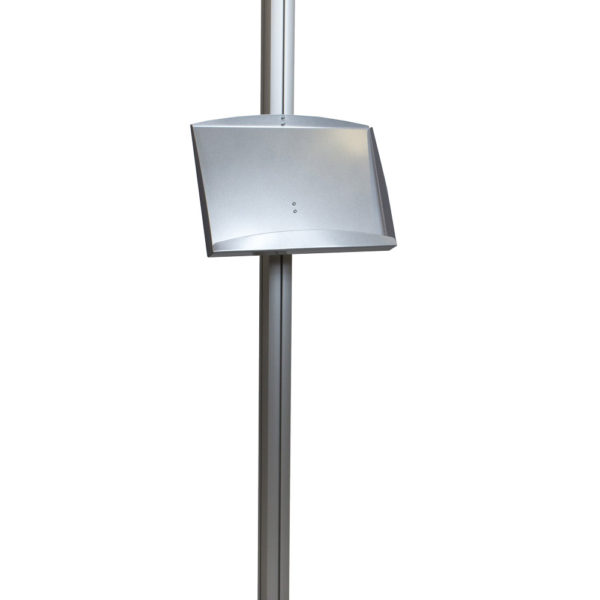 steel shelf for free standing modular display innotech. Black Bedroom Furniture Sets. Home Design Ideas