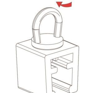 Swivel Ring Clip Frame Holder