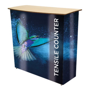 Tensile Fabric Pop Up Counter