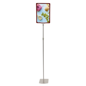 Showcard Stand (750mm-1500mm) A3 - Green