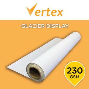Vertex Glacier Frontlit Display Textile 230 - 3200mm x 100m