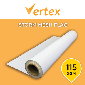 Vertex Storm Mesh Flag 115 - 3200mm x 100m