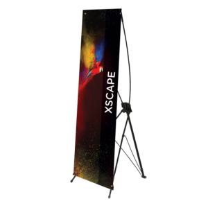 Xscape Tension Banner - 1200mm x 2000mm