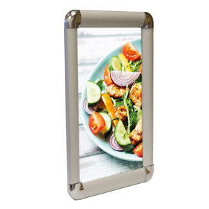 """30mm Round Snap Frame - 30"""" x 40"""" Silver"""