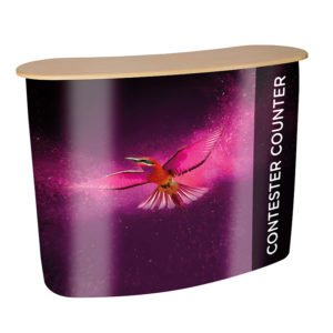 Contester Pop Up Promotion Counter 2x2