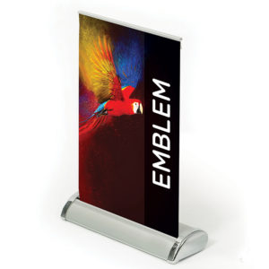 Emblem Mini Roller Banner A3