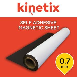 Kinetix Self Adhesive Magnetic Sheet 0.7mm - 1200mm x 10m